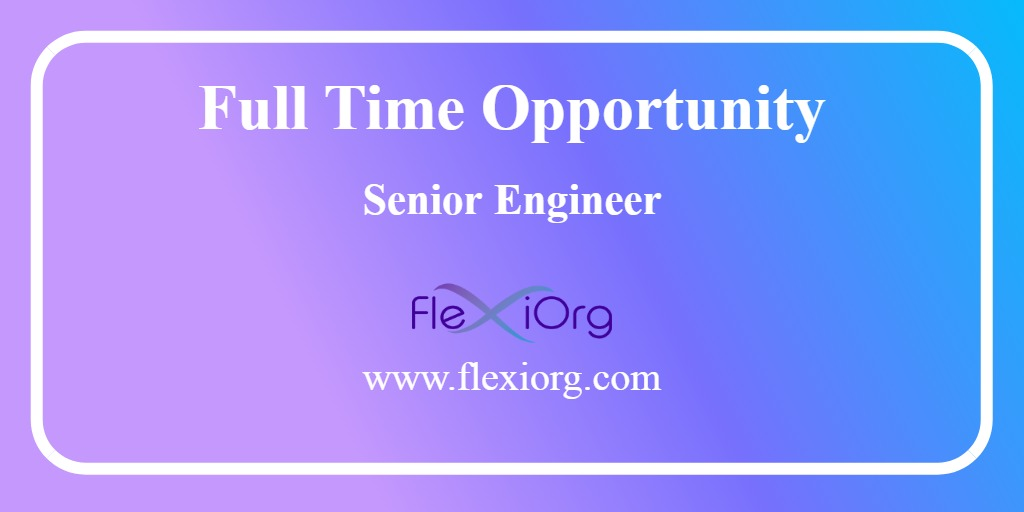 FlexiOrg | Senior Engineer-Device Drivers job at Gurgaon | job in